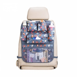 2019 Cartoon Multi-use Kids Car Back Seat Organizer Tissue Box Car Seat Back Organizer
