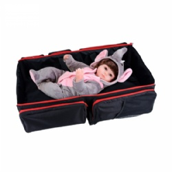 Multi-functional 3 in 1 Baby Travel Bassinet Diaper Bed 0-12M