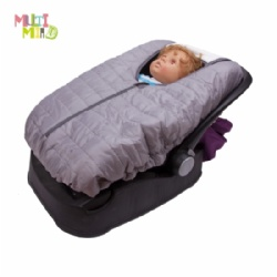 Reversible cozy Infant Car Carrier Cover
