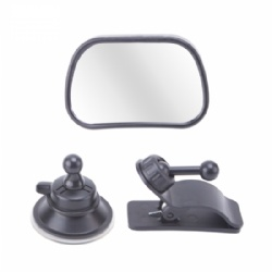 Universal Rear View Baby Mirror for Car with Wide Angle 360 Degree Rotatable