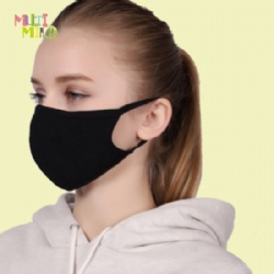 2 layers 100% Ice silk stereo protection face mask